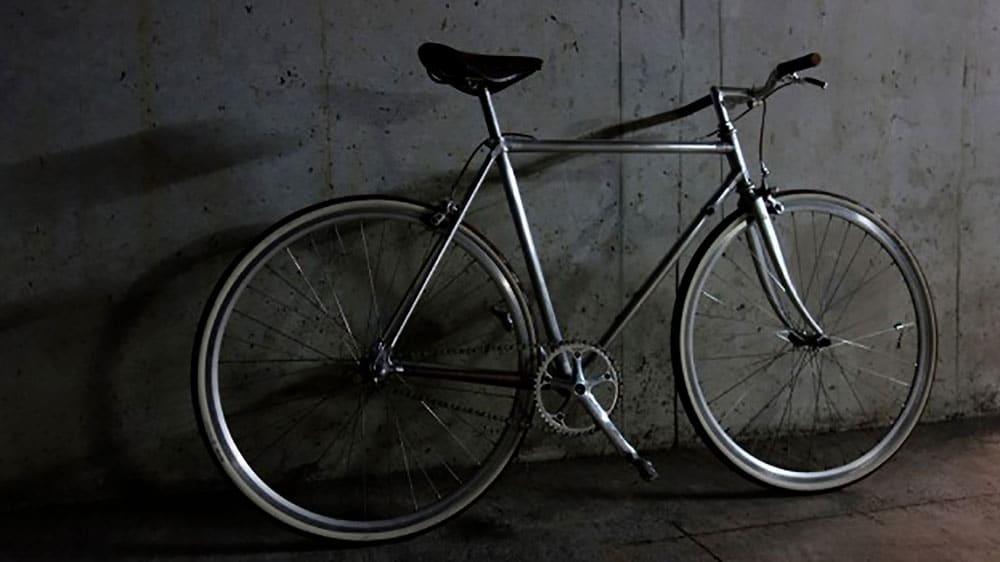 Le vélo Vitus 979 d'un internaute transformé en singlespeed