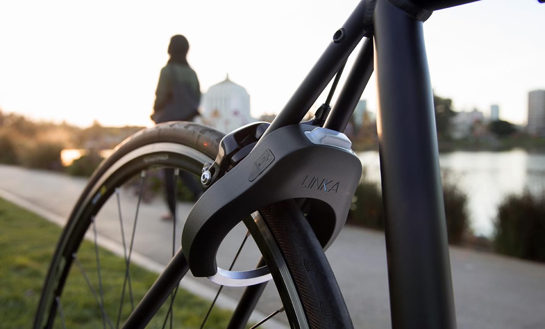 L'antivol à vélo Linka avec message d'alerte