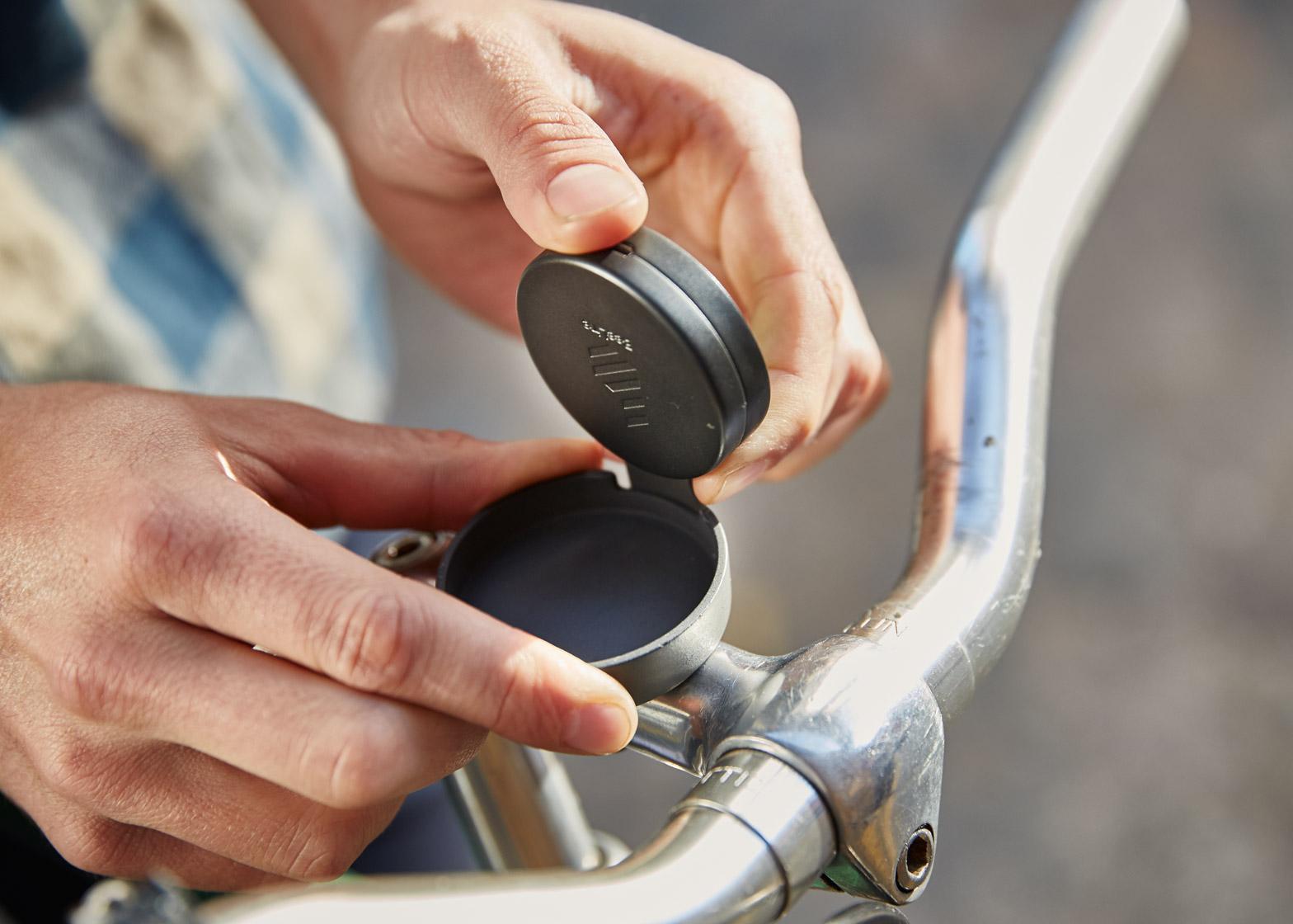 Beeline, le GPS malin et petit pour votre vélo urbain