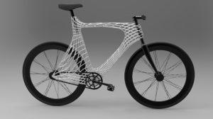 Vélo Arc Bicycle, nouveau fixie fabriqué avec une imprimante 3D