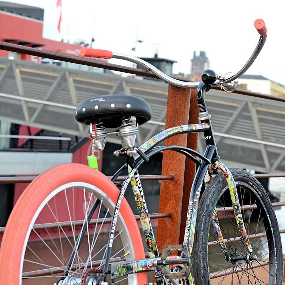 Valentin nous présente son vélo Mars Attack Cruiser