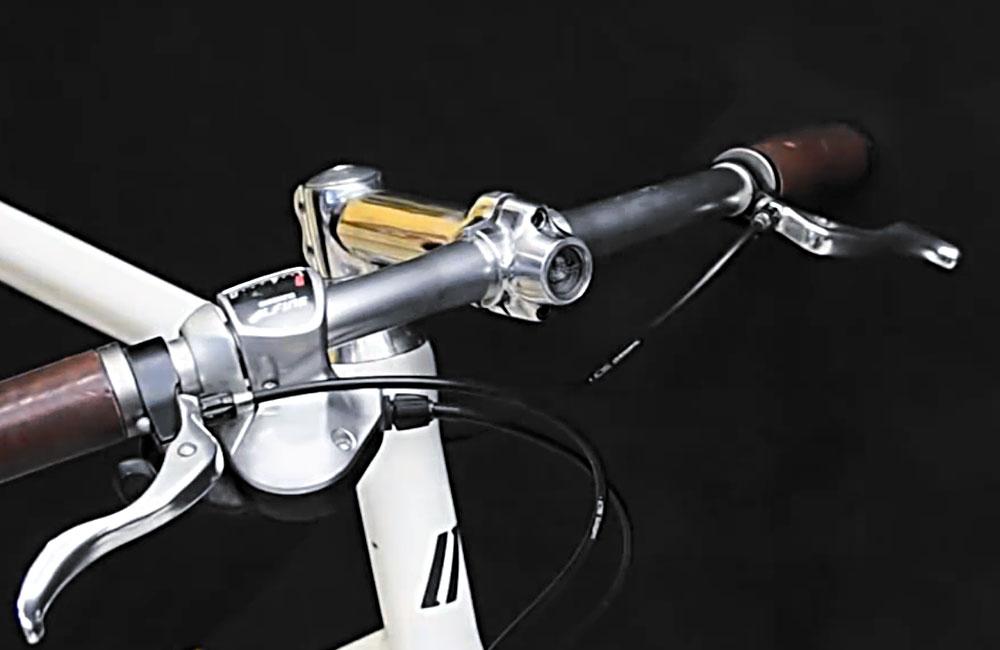 Lumineer, la potence de vélo avec phare avant intégré