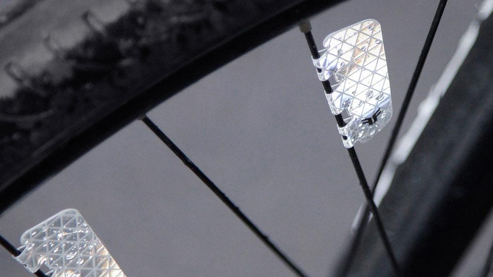 Nouveaux réflecteurs pour roues de vélo Flectr