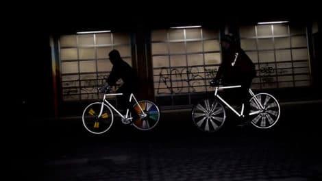 Happarel Bicycles propose des tatouages fluorescents pour vélos