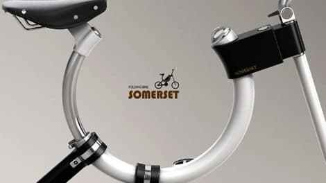Vélo Somerset, le concept bike fixie pliable et design !