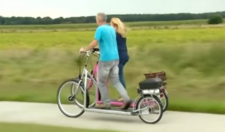 Walking Bike, un tapis de course sur un vélo !