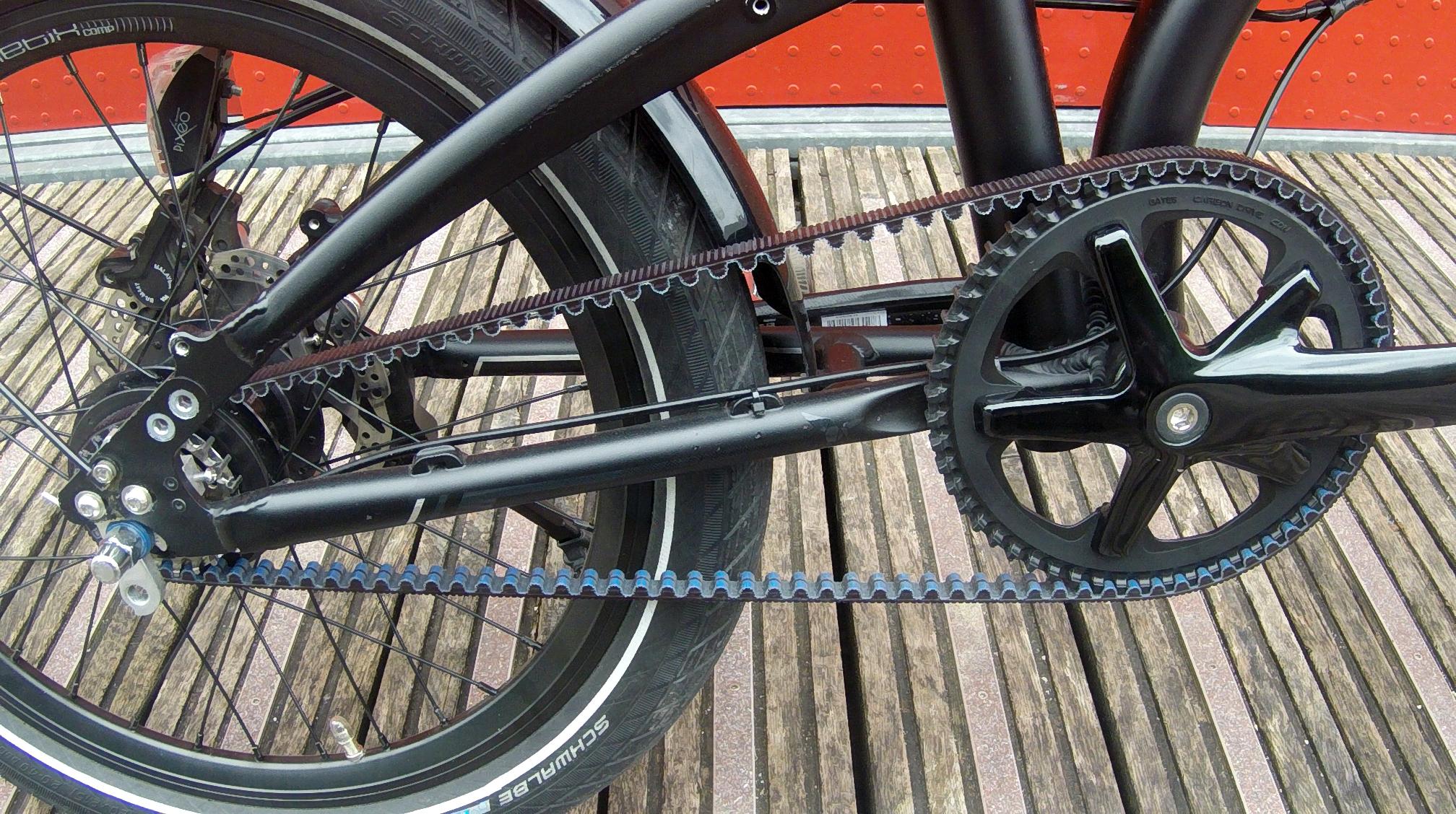 Vélo pliant haut de gamme Tern Verge S8i