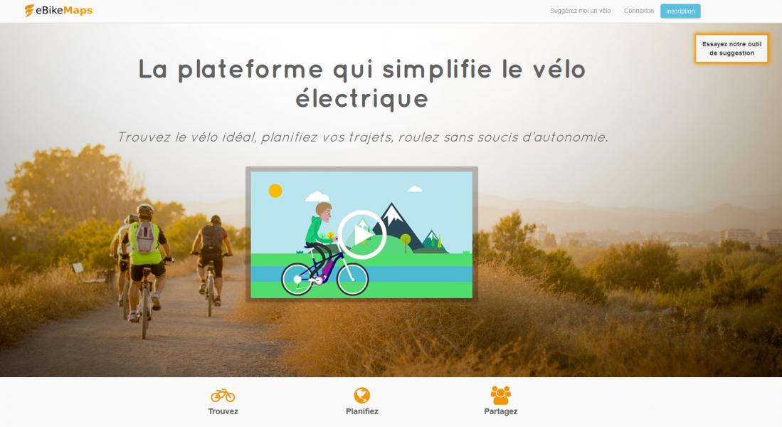 EbikeMaps, la plateforme qui simplifie le vélo électrique width=