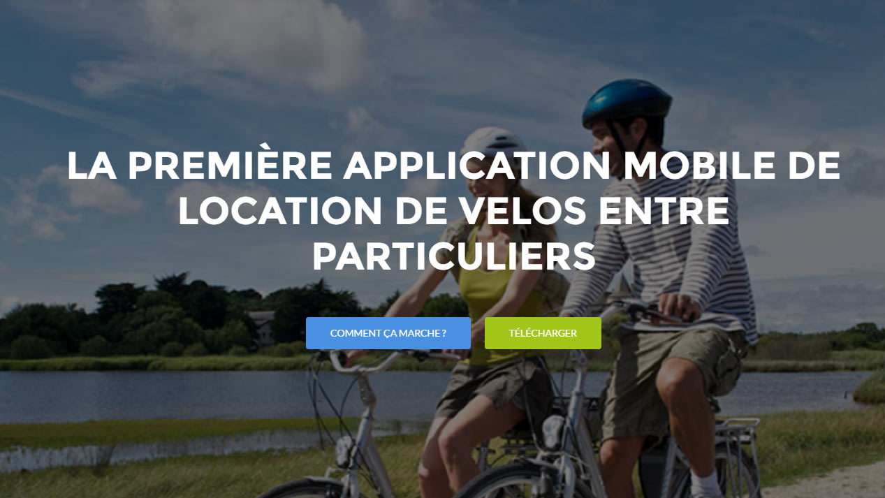 So Be Bike, l'application mobile de location de vélos entre particuliers