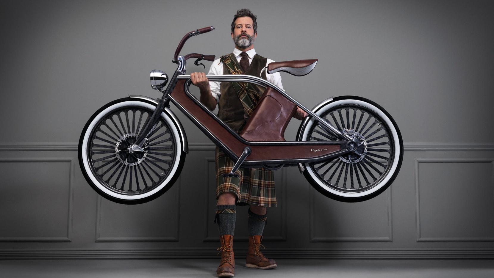 Le vélo électrique Cykno par les italiens Engeenius
