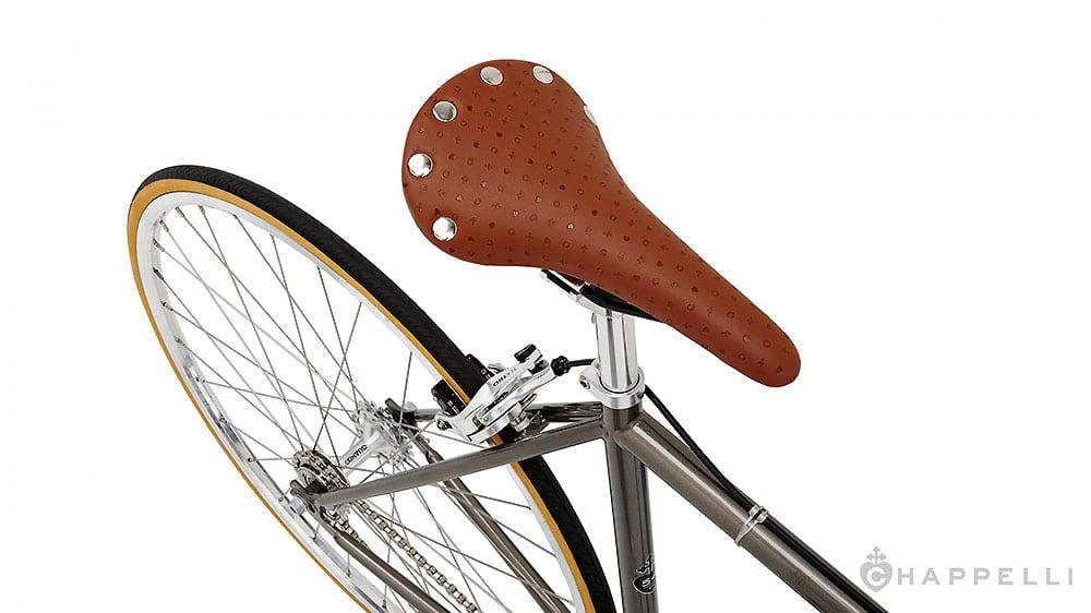 Chappelli présente son nouveau vélo fixie vintage Pistola