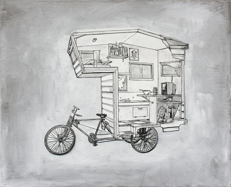 Le vélo Camper Bike par le designer Kevin Cyr