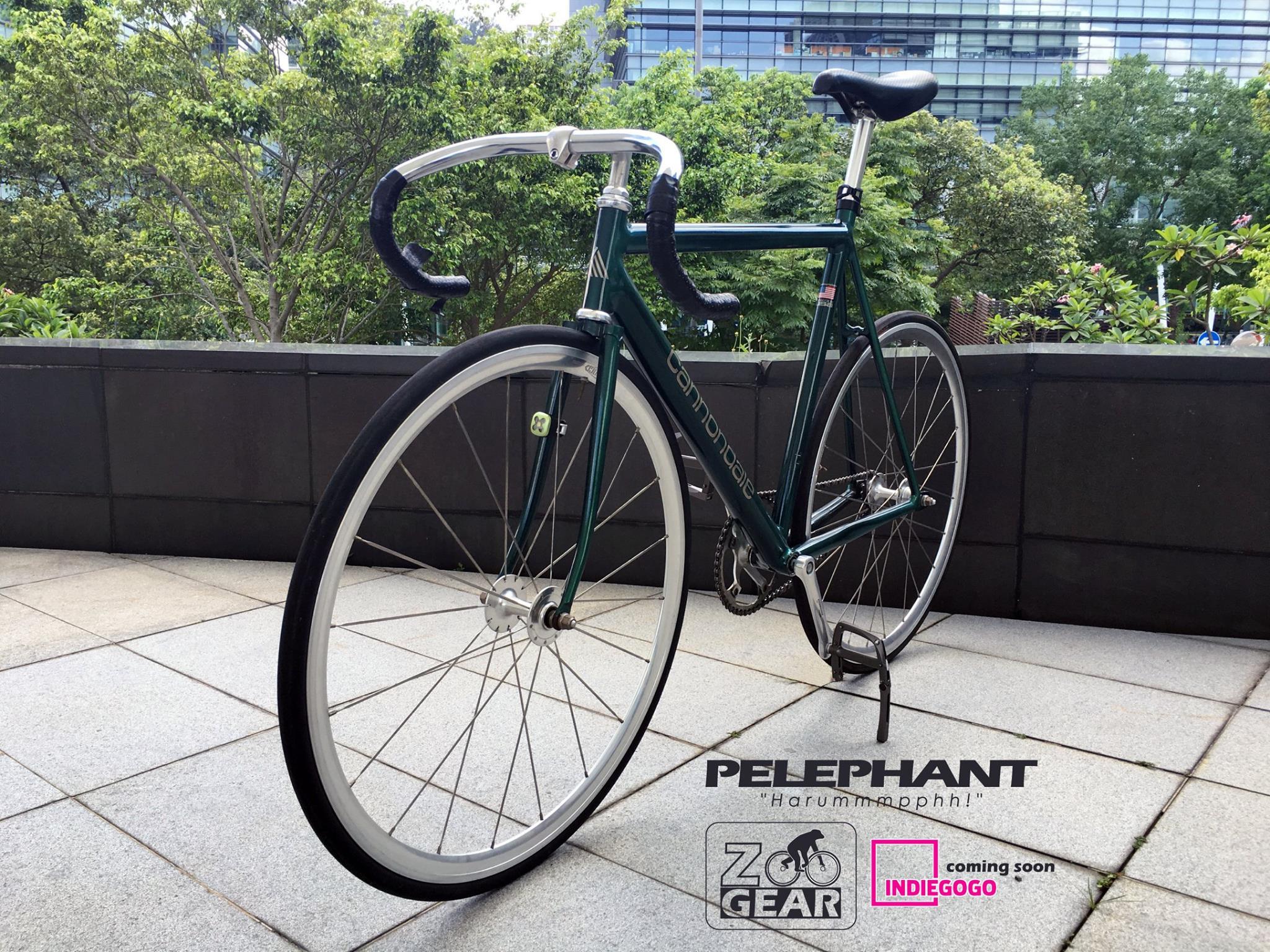 Zoo Gear, la pédale de vélo qui fait aussi béquille !