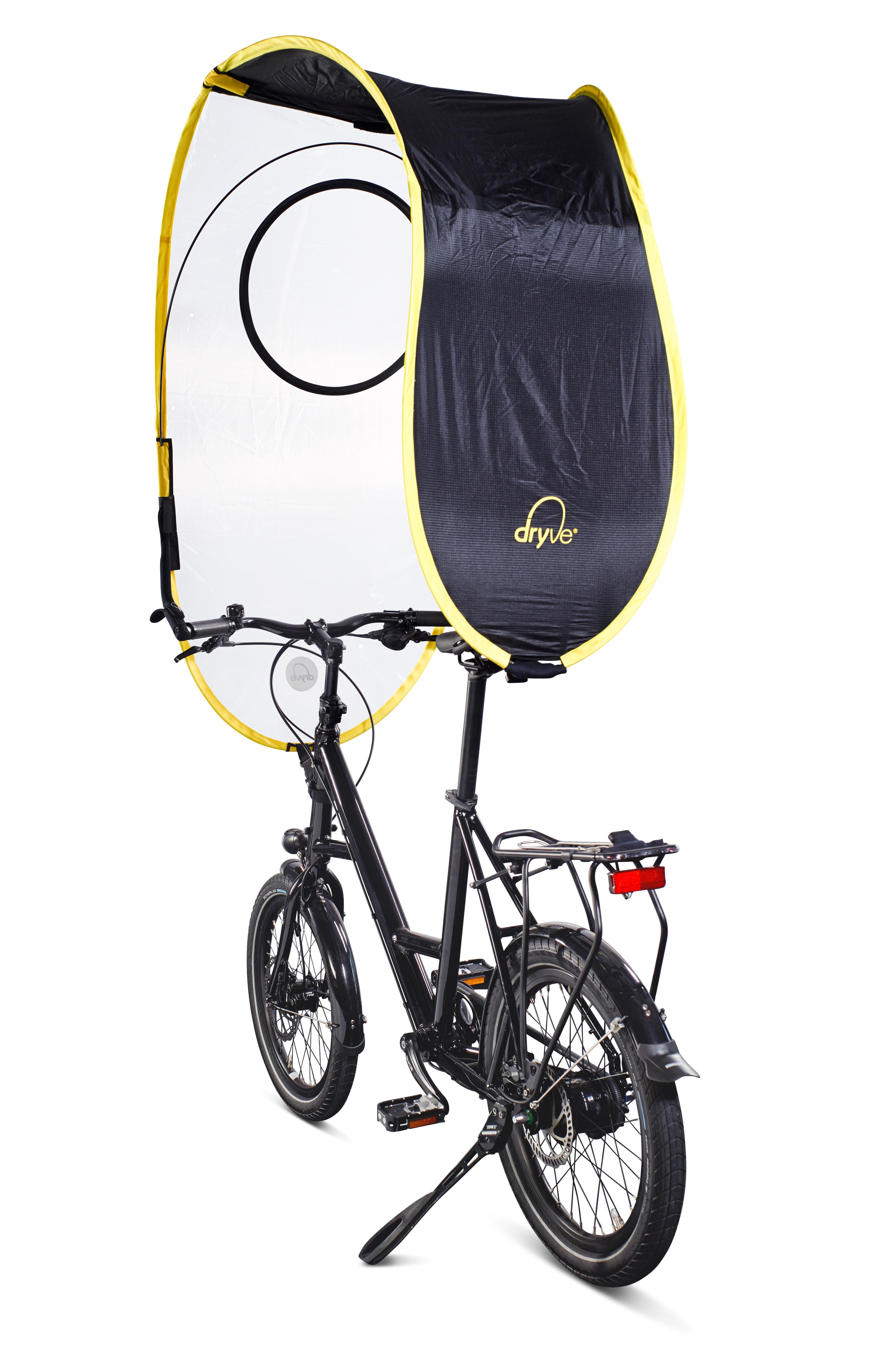 Dryve, un parapluie pas comme les autres pour votre vélo urbain !