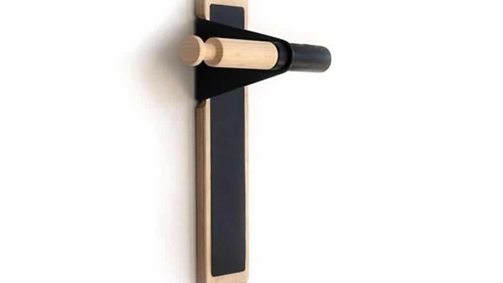 Lift, un nouveau porte vélo design en bois pour votre appartement