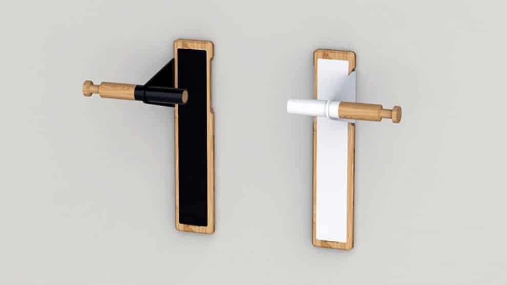 Lift un nouveau porte v lo design en bois pour votre appartement v lo ville v lo urbain sur - Porte appartement bois ...