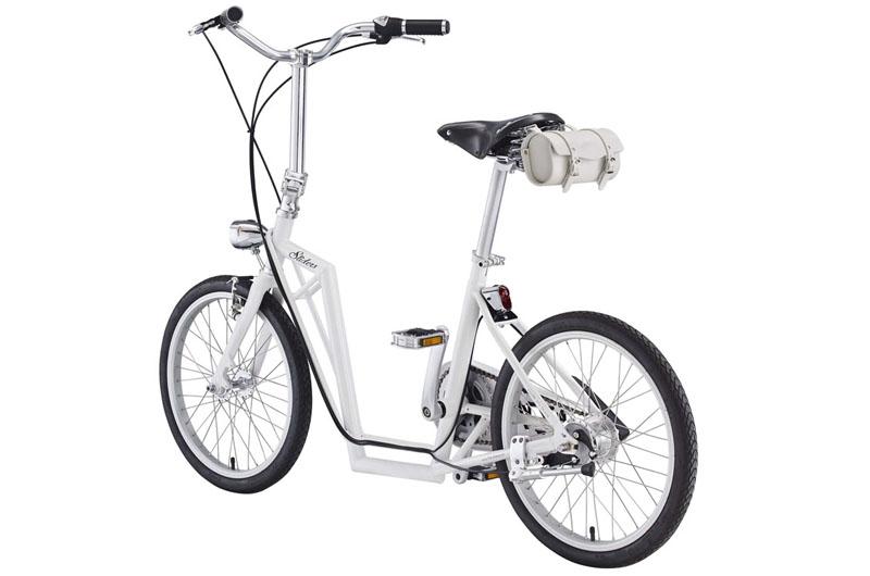 The Sliders, un vélo urbain qui fait aussi trotinette