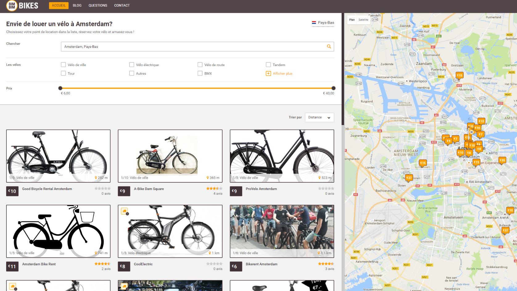 Parcourez l'Amsterdam Dance Event en louant un vélo avec BimBimBikes