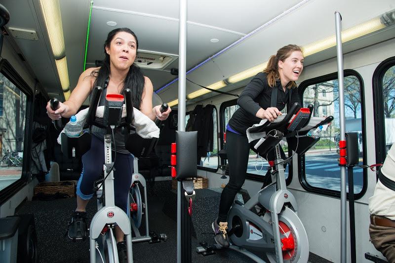 Equiper des bus avec des vélos d'appartement à Londres !