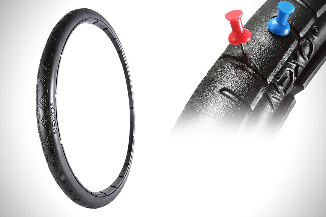 Découvre un pneu de vélo increvable, le Nexo