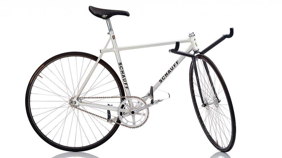Découvrez le vélo pignon fixe Schauff Aero des années 80
