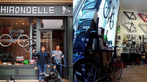 L'Hirondelle, magasin bike shop dans le 15ème à Paris
