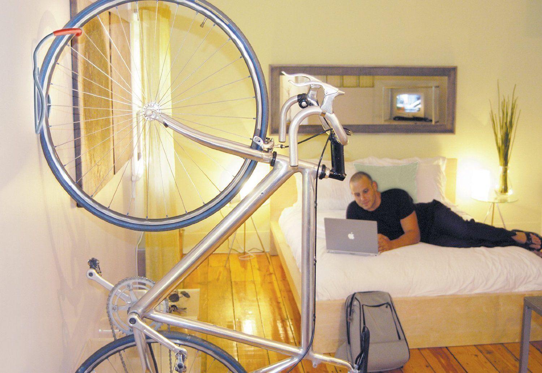 Porte-vélo mural design Delta Leonardo Da Vinci pour votre intérieur