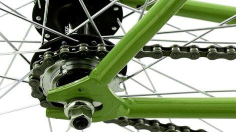 C'est quoi exactement une roue de vélo flip flop ?