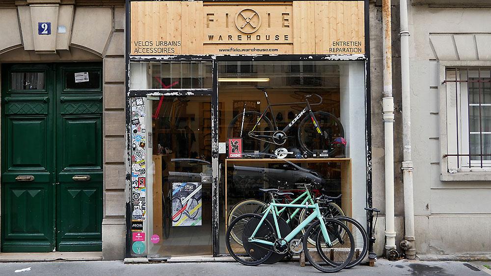 Fixie Warehouse, une boutique dans le 14ème arrondissement de Paris
