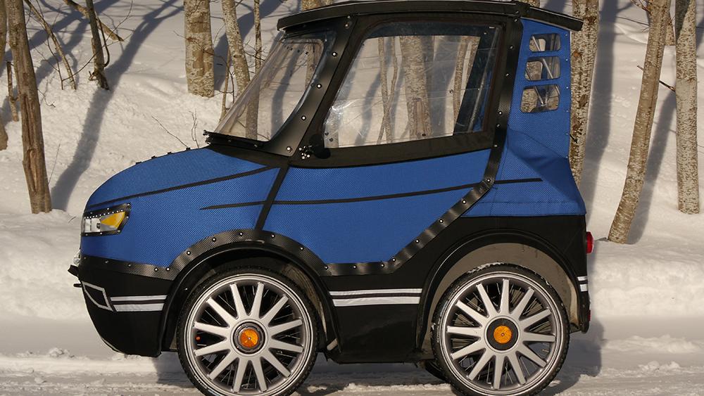 PodRide un vélo urbain qui ressemble à une voiture
