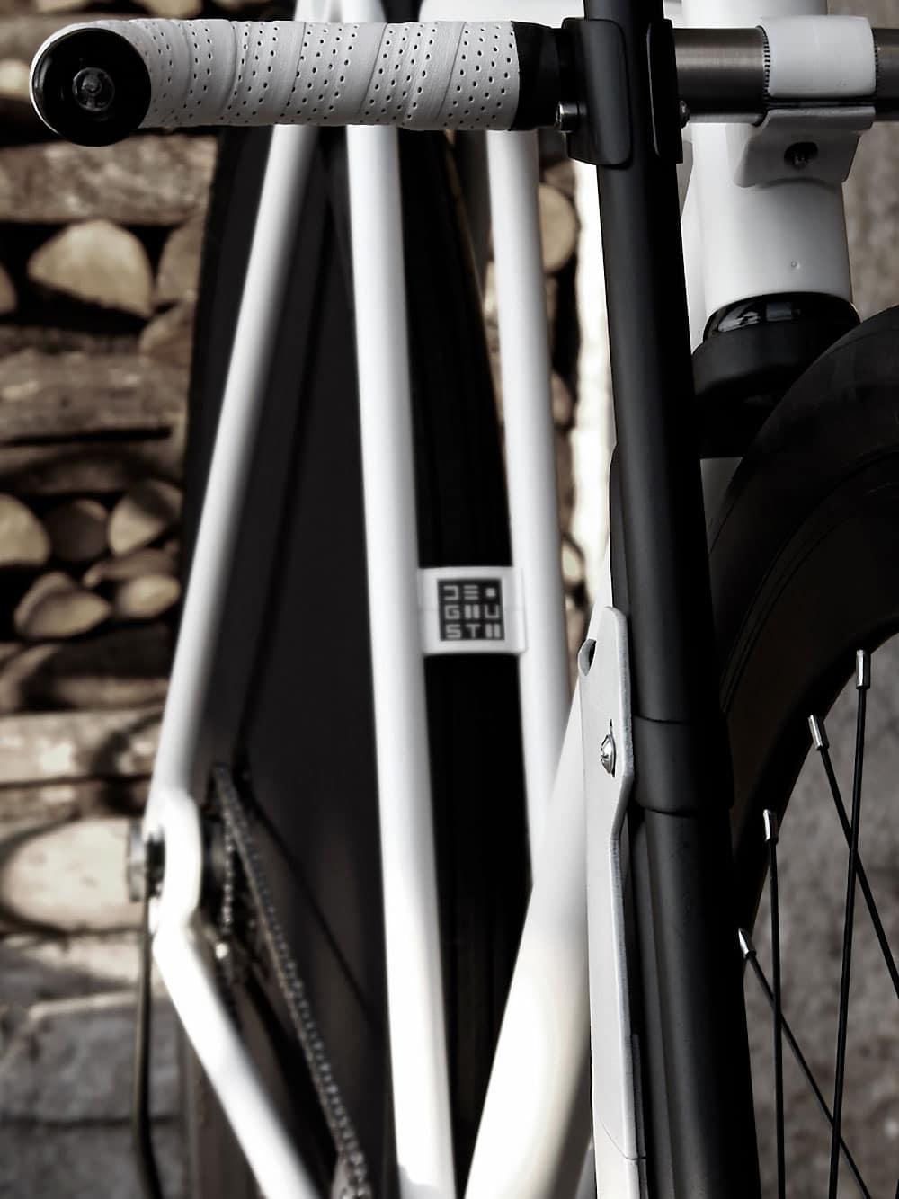 36/28 Postale, un concept de vélo urbain par Paolo De Giusti