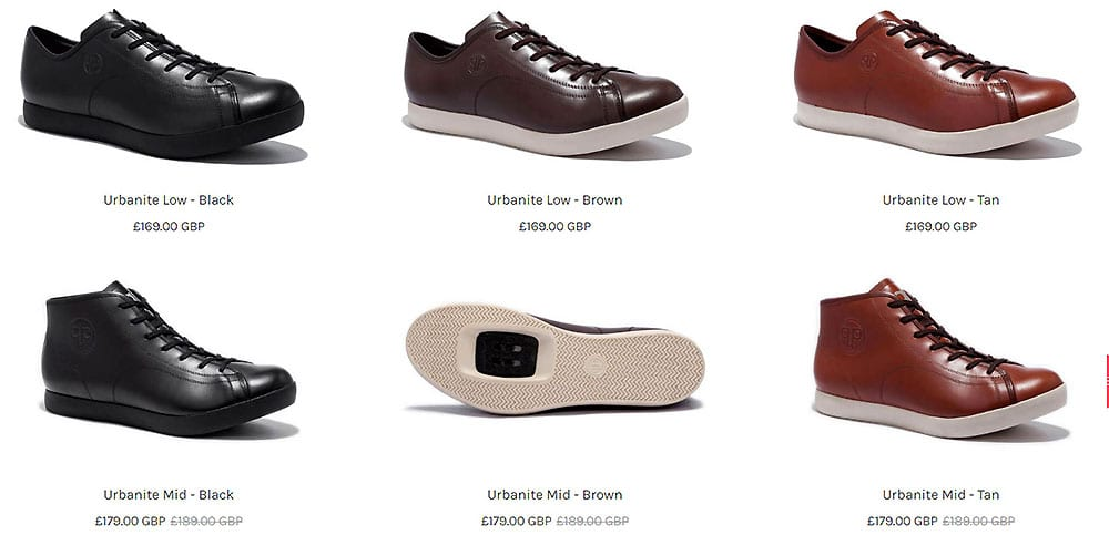 Quoc Pham des chaussures de ville avec des cales automatiques