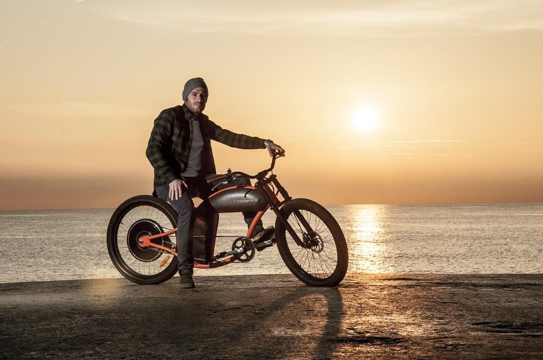 Rayvolt Cruser, un vélo électrique au look vintage