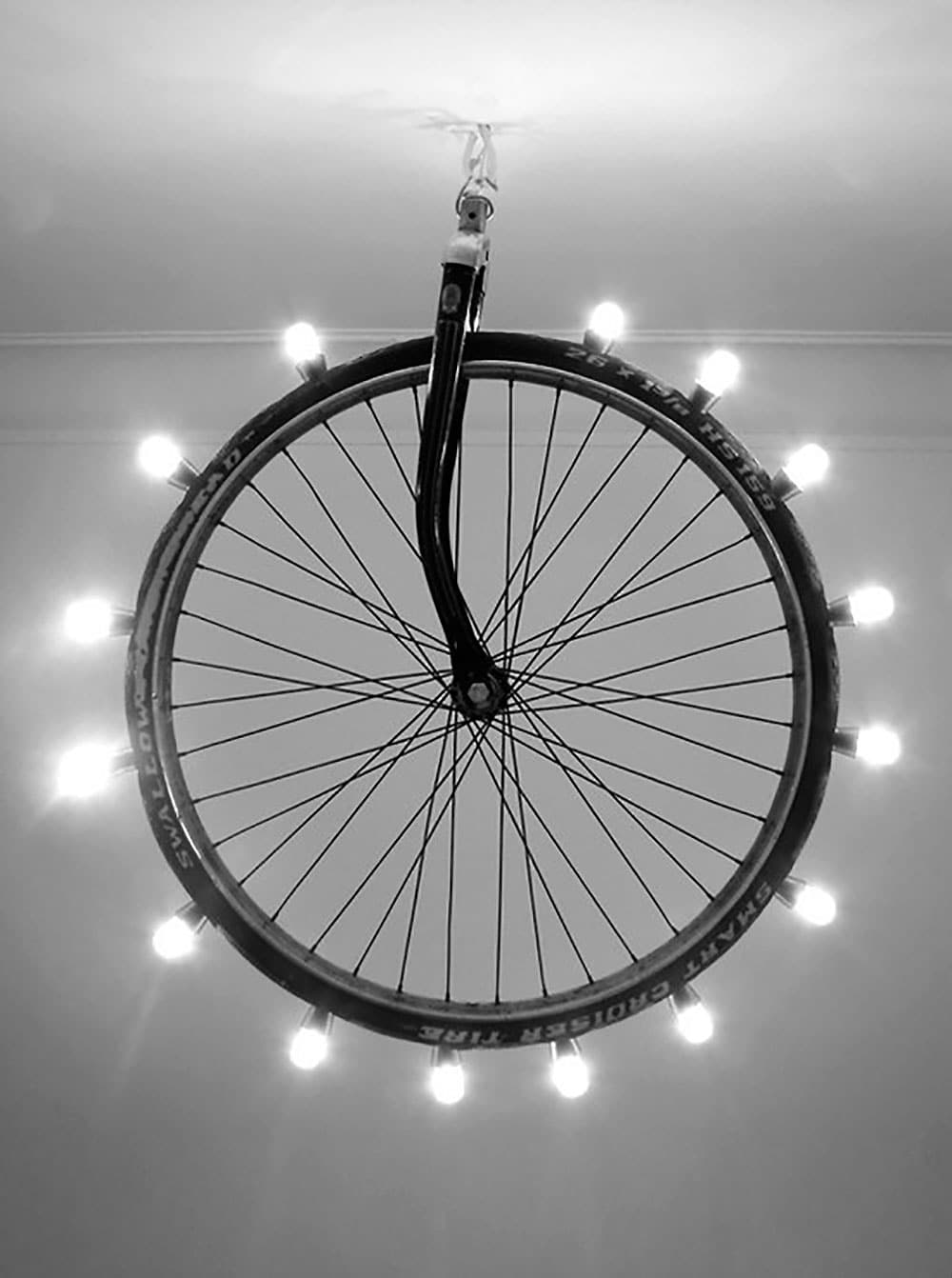 Des idées de décos et d'objets à partir de pièces de vélos