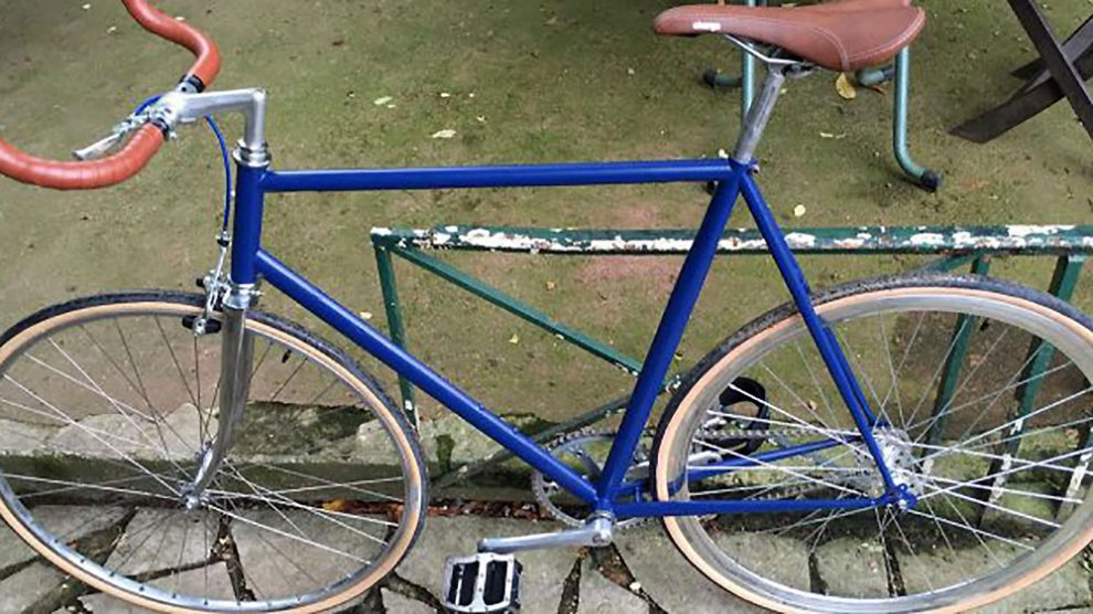 Réalisation d'un vélo fixie sur la base d'un Peugeot PH12 de 1983
