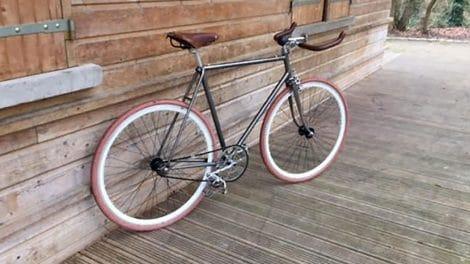 Réalisation d'un vélo singlespeed flip flop sur la base d'un Mercier