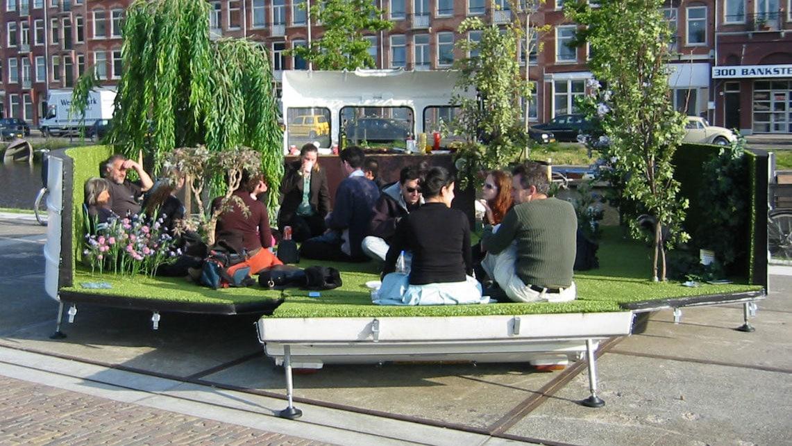 Des jardins urbains cyclables et éphémères c'est possible !