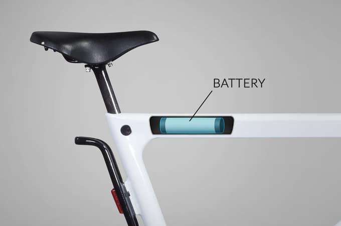Volta, un vélo électrique avec le moteur dans son cadre