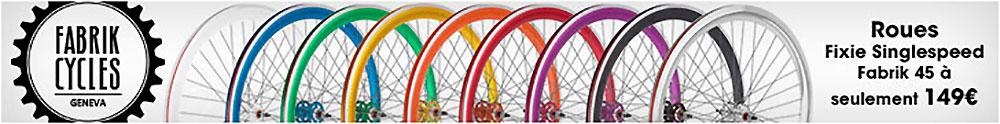 Les vélos à petit prix de type flip flop de chez Fixie Corp