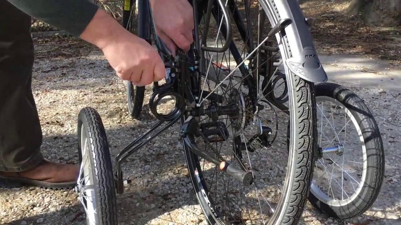 Stabilisateur pour les vélos d'adultes EZ Trainer Senior