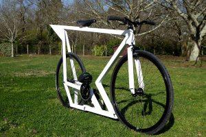 Fabrication d'un vélo fixie avec cadre maison, La Roquette