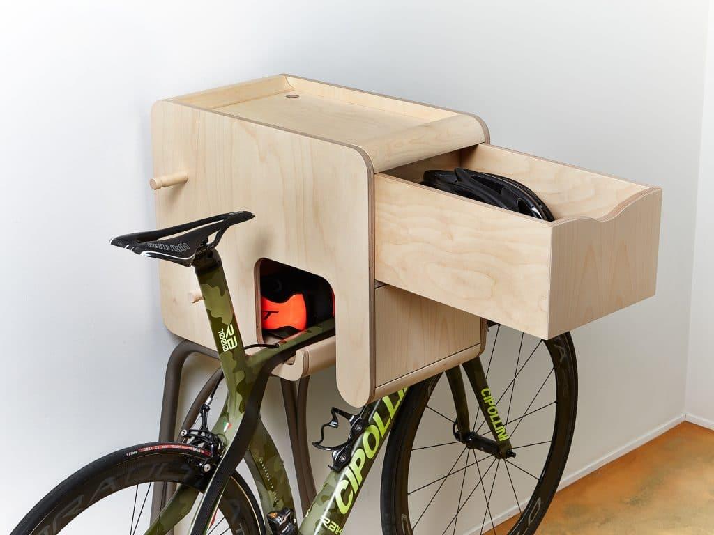 Bike Butler, un meuble de rangement pour cyclistes