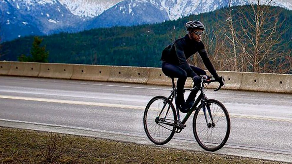 Jean-Aimé Bigirimana a parcouru 17 500 km en fixie !