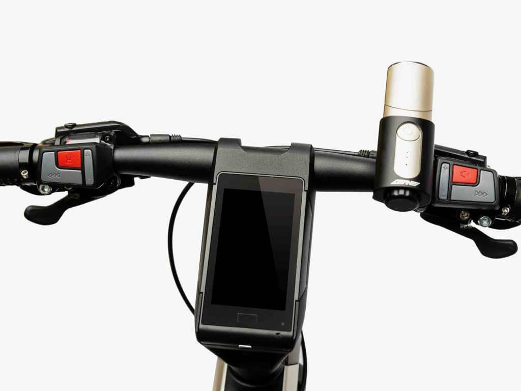 Le Super Bike, un vélo urbain connecté de la marque LeEco