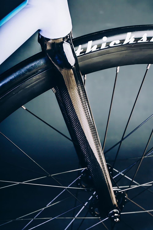 Le vélo urbain écossais singlespeed à courroie Crono