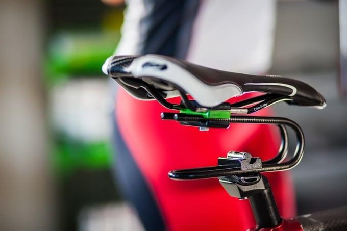 Nouveau système de fixation de selle de vélo Rinsten Spring