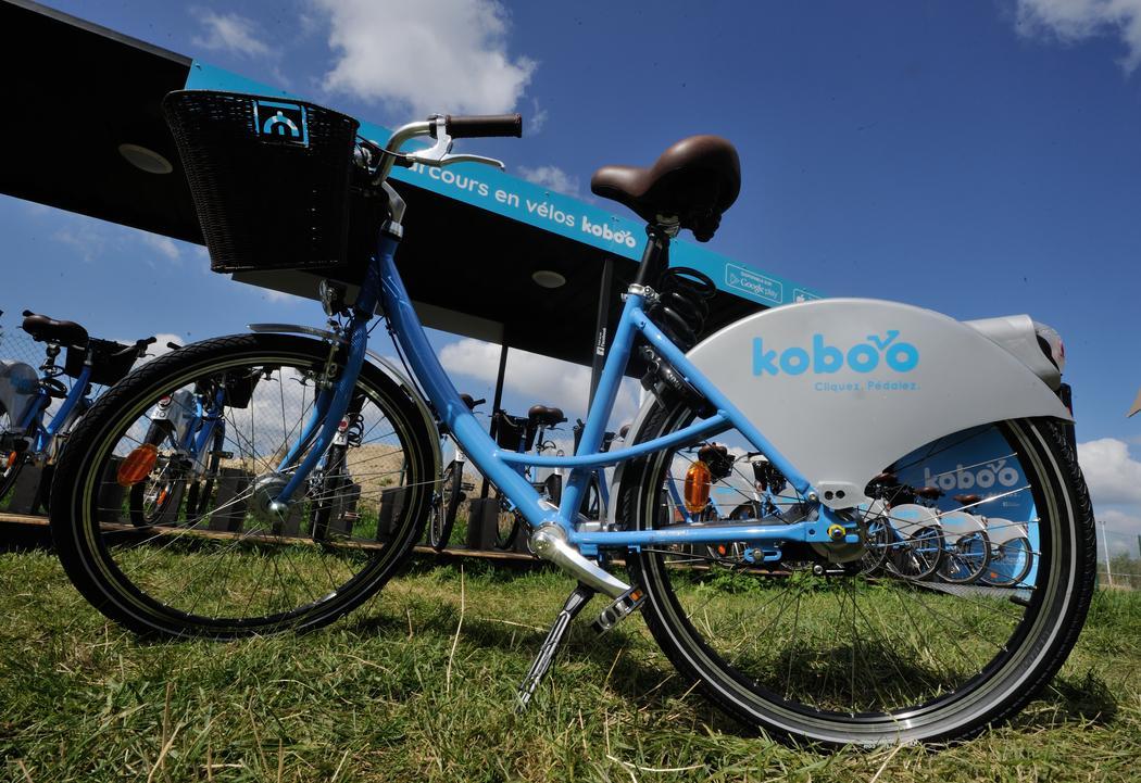 Koboo, le 1er vélo en libre service 100% connecté