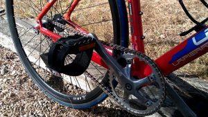 Vélo pignon fixe au look VTT Lapierre d'un internaute