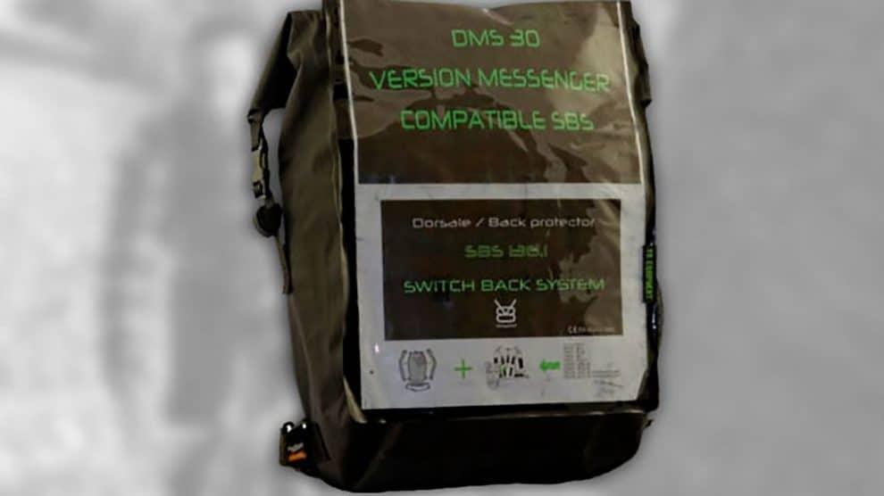 Le sac de vélo style Coursier Messenger DMS 30.2 de V8 Equipment