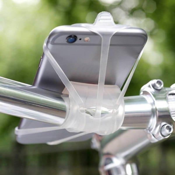 Le support de téléphone minimaliste proposé par Custom Vélo
